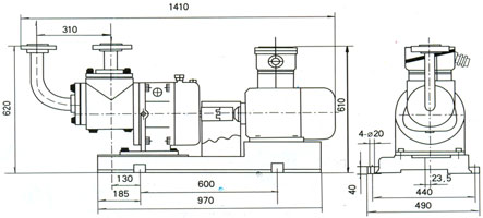 双螺杆lpg液化石油气抽吸泵